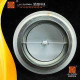 Qualitäts-weiße Stahlklimaanlagen-rundes Tellerableerventil