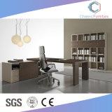 新式のオフィスの木の机の家具