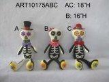 """11 de Ornamenten van de Knuppel van """" Hx7.5 """" L met AcrylDecoratie been-3asst-Halloween"""