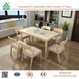 Части стула комнаты Dianing Превосходн-Представления деревянные, относящие к окружающей среде комплекты мебели столовой таблицы