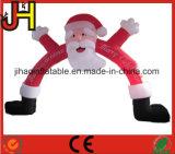 훈장을%s 팽창식 크리스마스 아치 산타클로스 광고