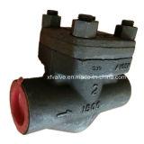 API602 a modifié le clapet anti-retour de l'extrémité d'amorçage de l'acier du carbone A105 TNP