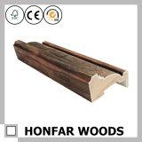 Frame de porta moldando da madeira de pinho branco