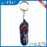 PVC suave de encargo Keychains de goma con precio barato