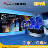 Cine caliente de Vr del huevo de la máquina de juego de arcada de la realidad virtual de la venta 9d 9d en alameda de compras
