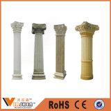 Pilares decorativos interiores y columnas del granito de los pilares naturales del mármol
