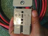 O cabo distribuidor de corrente cinzento da potência Sb-120A 600V de Anderson coneta rapidamente a soldadura