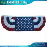 Poliéster interno ao ar livre Bunting patriótico bordado dos EUA da bandeira 210d americana (J-NF16P18002)