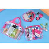 3 em 1 Promotional PVC Cosmetic Wash Bag Clear Makeup Bag