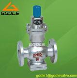 Directo presión que actúa fuelle Válvula reductora (GAY44h / Y)