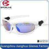 Vidrios corrientes de ciclo Biking irrompibles protectores al aire libre de encargo del ojo de la impresión UV400 de la insignia de las gafas de sol de los deportes que compiten con