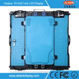 El panel de interior a todo color de la pantalla del alquiler LED del acontecimiento de SMD P6mm con el peso ligero