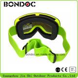 Grandes lunettes de ski de lentille sphérique de vue