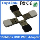 Kaart van het Netwerk 150Mbps USB van lage Kosten de Mini Draadloze met FCC van Ce Zachte Ap van de Steun Wijze