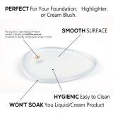 Mezclador de la belleza de la esponja del maquillaje del huevo del departamento de la cara de la muestra libre