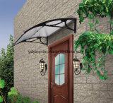 Baldacchino facile del PC della tenda della finestra del manuale DIY Pocarbonate per il portello e finestra con il profilo centrale
