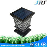China Number One Solar Garden Light usa bateria de lítio com alta luz de parede exterior impermeável