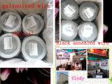 1kg/Coil Alambre Galvanizado Karton-Verpackung