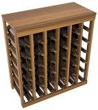 Cremalheira Stackable do frasco de vinho do armazenamento da cremalheira do vinho de Home& Gardern de 48 frascos