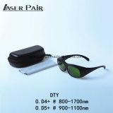 Предохранение от 980nm лазера Eyewear, 1064nm, 1320nm, 1470nm 800 - изумлённые взгляды безопасности длины волны 1700nm Protecive для диодов, ND: YAG