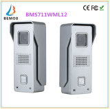Téléphone visuel de porte d'écran tactile de 7 pouces avec la vision nocturne de l'intercom 1-Camera 2-Monitor de sonnette