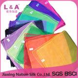 Reine Farben-preiswerter fördernder Geschenk-Nylon-Schal