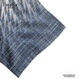Alineada corta de lino floral de la impresión del precio bajo de Srta. You Ailinna 800932-1