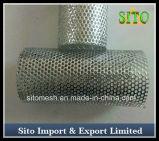 Filtro de engranzamento perfurado do fio do aço inoxidável