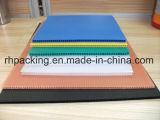 Blauwe Witte Gele 4mm10mm Dikke Golf Plastic Blad/Raad voor Verpakkend Materiaal