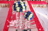 Vase acrylique romantique à décoration de Vedding