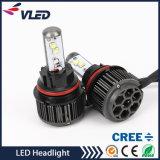 직업적인 공장 최고 밝은 6000lm 30W 60W IP68 H4 H13 차 LED 헤드라이트