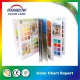 Folleto del color de la impresión para la pintura interior y al aire libre del edificio