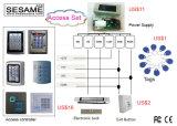 IP68 het waterdichte Controlemechanisme van Wiegand van het Toegangsbeheer van de Deur (S5C)