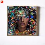 De frame Olie Painitng van het Canvas van de Zwarte van de Kunst van de Muur