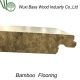 Kein verbindenbefleckter Strang gesponnener Bambusbodenbelag