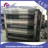 Промышленная коммерчески электрическая печь пиццы палубы для трактира хлебопекарни