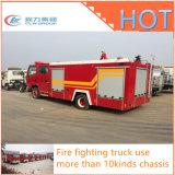 Carro profesional de la lucha contra el fuego del tanque de agua de la espuma 4X2 de Isuzu Dongfeng