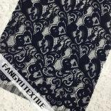 Tessuto di lavoro a maglia di nylon del merletto del cotone per il vestito