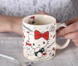 11oz tazza di ceramica, tazza del gres di colore solido
