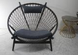 거실을%s 직물 시트를 가진 가정 가구 Lesiure 나무로 되는 의자