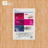 Haustier-Blatt-Karten-Blatt-Plastikblatt