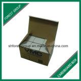 ブラウンの部品の包装のためのFoldable波形のカートンボックス