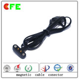 Custom Waterproof Wearable Magnetic Pogo Pin Cable Connector