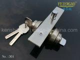 Solo bloqueo de cilindro lateral de Lock&Zinc de la puerta deslizante del acero inoxidable del bloqueo 301