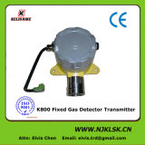 Online 4-20mA Relay 0-250ppm Fixed No Gas Detector