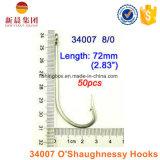 Crochet à haut carbone d'O'shaughnessy de l'acier 34007