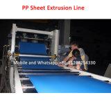 Máquina da extrusora da placa da folha da espuma dos PP
