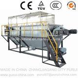 PP는 수용량 300kg/H를 가진 생산 세탁기의 재생을 촬영한다