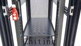 Cercos de cremalheira da rede da série de um Zt HS de 19 polegadas com altura ajustável