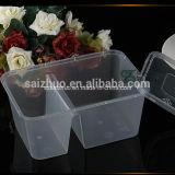 la plastica a gettare accatastabile dello scompartimento 1000ml 2 toglie il contenitore di alimento